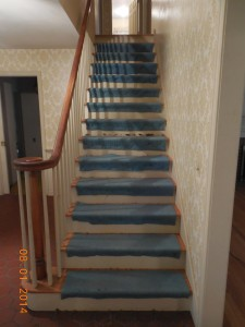 Stairs with Carpet Pad