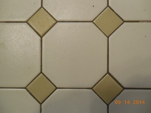 Harvest Gold Floor Tiles