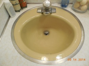 Harvest Gold SInk