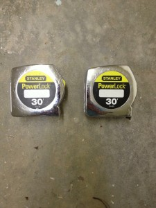 Two Tape Measures